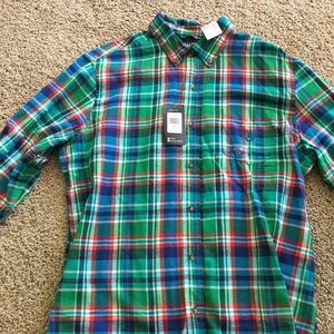 Chaps long sleeve flannel